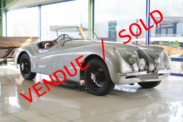 a vendre for sale jaguar xk 120 roadster 1953. Black Bedroom Furniture Sets. Home Design Ideas