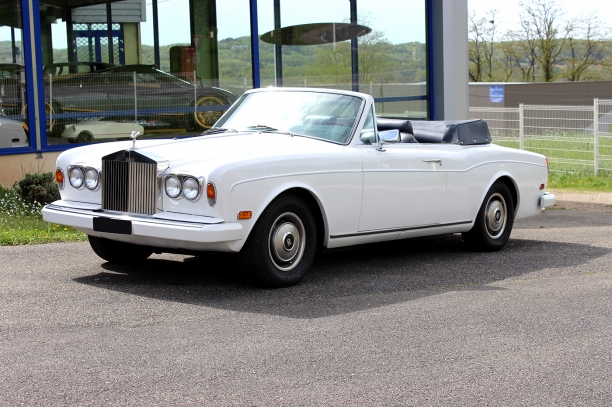 a vendre for sale rolls royce corniche cabriolet 1980. Black Bedroom Furniture Sets. Home Design Ideas